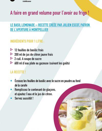 Le Basil Lemonade