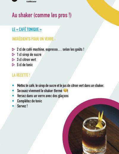 """Le """"Café tonique"""""""
